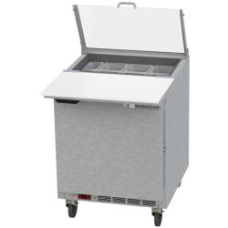 Beverage Air - SPE27HC-CL - 27 in Clear Lid Sandwich Prep Table image