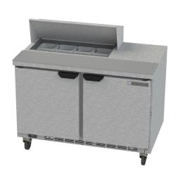 Beverage Air - SPE48HC-08-09 - 48 in Prep Table w/ Locking Doors image