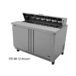 Fagor - FST-60-16 - 60 in 16 Pan Salad Top Prep Table image