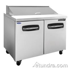 Nor-Lake - NLSP48-12 - AdvantEDGE 2 Door 48 in Sandwich Prep Table image
