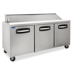 Nor-Lake - NLSP72-18A-006B - 72 in 4 Drawer AdvantEDGE™ Sandwich Prep Table LFT Door image