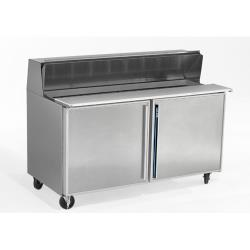 Silver King - SKP6016 - 2 Door Refrigerated Sandwich / Salad Prep Table image
