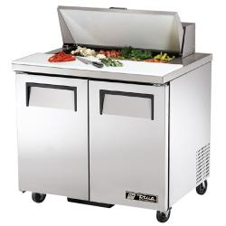 "True - TSSU-36-8 - 2 Door 36"" Sandwich Prep Table image"