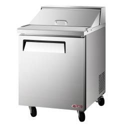 Turbo Air - EST-28-N6 - 28 in 1-Door E-Line Sandwich Prep Table image