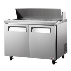 Turbo Air - EST-60-N - 60 in 2-Door E-Line Sandwich Prep Table image