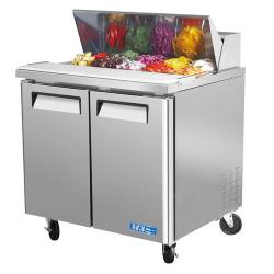Turbo Air - MST-36 - M3 Series 2 Door 36 in Sandwich Prep Table image
