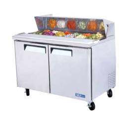 Turbo Air - MST-48 - M3 Series 2 Door 48 in Sandwich Prep Table image