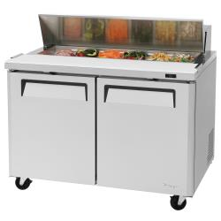 Turbo Air - MST-48-N - M3 Series 2-Door 48 in Sandwich Prep Table image