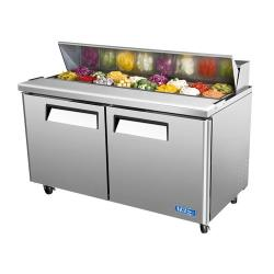 Turbo Air - MST-60 - M3 Series 2 Door 60 in Sandwich Prep Table image