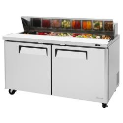 Turbo Air - MST-60-N - M3 Series 2-Door 60 in Sandwich Prep Table image