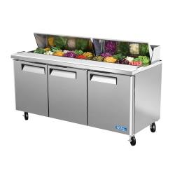 Turbo Air - MST-72 - M3 Series 3 Door Sandwich Prep Table image