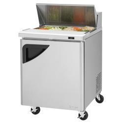 Turbo Air - TST-28SD-N - Super Deluxe 1-Door Sandwich Prep Table image