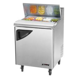 Turbo Air - TST-28SD - Super Deluxe 1 Door Sandwich Prep Table image