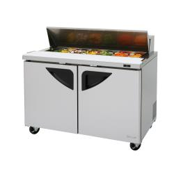 Turbo Air - TST-48SD-N - Super Deluxe 2-Door 48 in Sandwich Prep Table image
