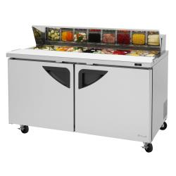 Turbo Air - TST-60SD-N - Super Deluxe 2-Door 60 in Sandwich Prep Table image