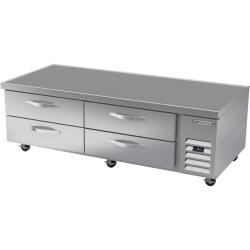 Beverage Air - WTRCS72HC - 72 in 4-Drawer Refrigerated Chef Base image