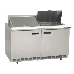 Delfield - 4460N-24M - 2 Section 60 1/8 in Mega Top Refrigerated Base w/ Doors image