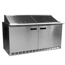 Delfield - 4464N-24M - 2 Section 64 1/8 in Mega Top Refrigerated Base w/ Doors image