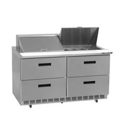 Delfield - D4448N-12 - 2 Section 48 1/8 in Salad Top Refrigerated Base  image