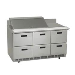 Delfield - STD4472N-18M - 3 Section 72 1/8 in Mega Top Refrigerated Base  image