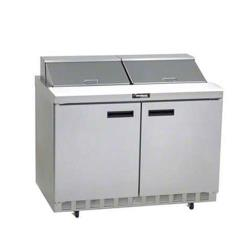 Delfield - UC4448N-12 - 2 Section 48 1/8 in Salad Top Refrigerated Base w/ Doors image