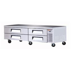 Turbo Air - TCBE-82SDR - 4 Drawer 83 in Refrigerated Chef Base image