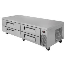 Turbo Air - TCBE-82SDR-N - 4-Drawer 83 in Refrigerated Chef Base image