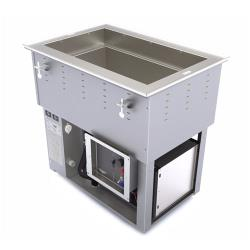 Vollrath - 3667101D - 1 Well Hot/Cold Top Mount Unit image