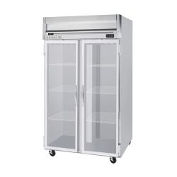 Beverage Air - HRPS2HC-1G - HRPS Series 2 Glass Door Reach-In Refrigerator image