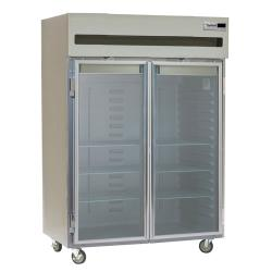 Delfield - 6051XL-G - 2 Section 51 in Glass Door Refrigerator image