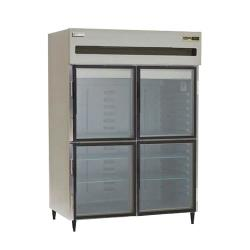 Delfield - 6051XL-GH - 2 Section 51 in Glass Door Refrigerator image