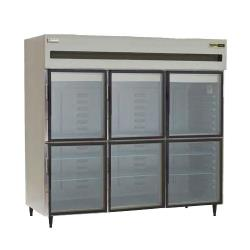 Delfield - 6076XL-GHR - 3 Section 76 1/2 in Glass Door Refrigerator image