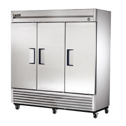 True - T-72 - T-Series 3 Door Reach In Refrigerator image
