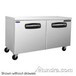 Nor-Lake - NLUR60A-002 - AdvantEDGE 2 Drawer 60 in Undercounter Refrigerator image