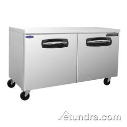 Nor-Lake - NLUR60A - AdvantEDGE 2 Door 60 in Undercounter Refrigerator image