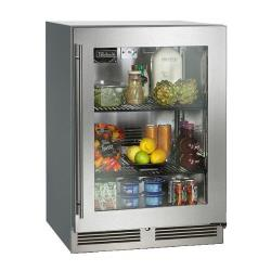 Perlick - HC24RS3SLF-STK - 24 in Single Door HC24 Undercounter Refrigerator image