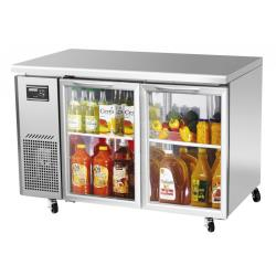 Turbo Air - JUR-48-G-N - J Series 48 in Glass Door Undercounter Refrigerator image