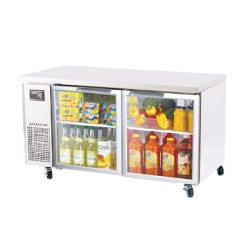 Turbo Air - JUR-60-G - J Series  60 in Glass Door Undercounter Refrigerator image
