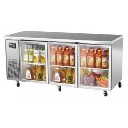 Turbo Air - JUR-72-G-N - J Series 72 in Glass Door Undercounter Refrigerator image