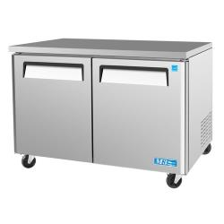 Turbo Air - MUR-48 - M3 Series 2 Door 48 in Undercounter Refrigerator image