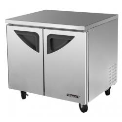 Turbo Air - TUR-36SD-N6 - Super Deluxe 2-Door 36 in Undercounter Refrigerator image