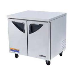 Turbo Air - TUR-36SD - SuperDeluxe 2 Door 36in Undercounter Refrigerator image