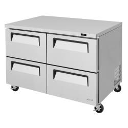 Turbo Air - TUR-48SD-D4-N - 48 in 4-Drawer Undercounter Refrigerator image