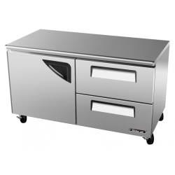 Turbo Air - TUR-60SD-D2-N - 60 in 2-Drawer Undercounter Refrigerator image