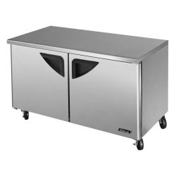 Turbo Air - TUR-60SD-N - Super Deluxe 2-Door 60 in Undercounter Refrigerator image