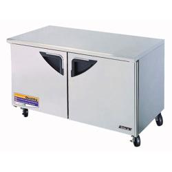 Turbo Air - TUR-60SD - SuperDeluxe 2 Door 60in Undercounter Refrigerator image