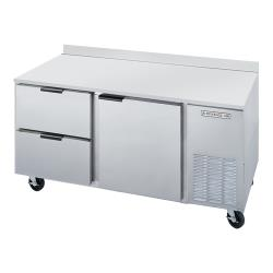 Beverage Air - WTRD67A-2 - 67 in 2 Drawer Worktop Refrigerator image