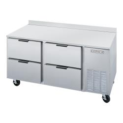 Beverage Air - WTRD67AHC-4 - 67 in 4 Drawer Worktop Refrigerator image