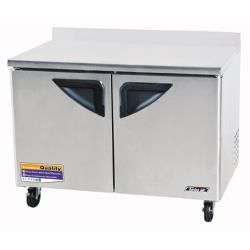 Turbo Air - TWR-48SD - Super Deluxe 2 Door 48 in Worktop Refrigerator image