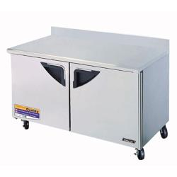 Turbo Air - TWR-60SD - Super Deluxe 2 Door 60 in Worktop Refrigerator image